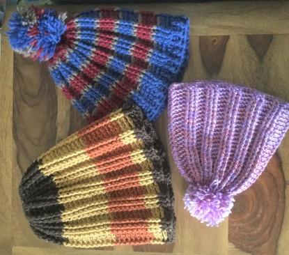 Football Snow Hat Crochet Rebellion